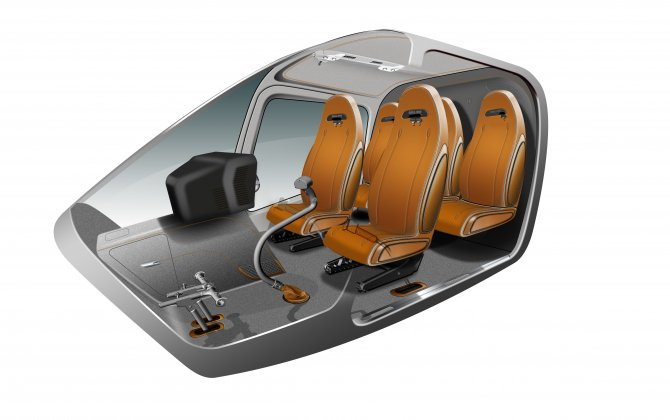 Bell and Mecaer unveil new 505 luxury interior