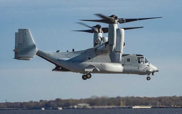 Bell Boeing Delivers First Modified Osprey