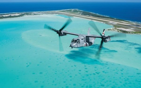Bell Boeing V-22 Osprey potential recognized for Indonesia support