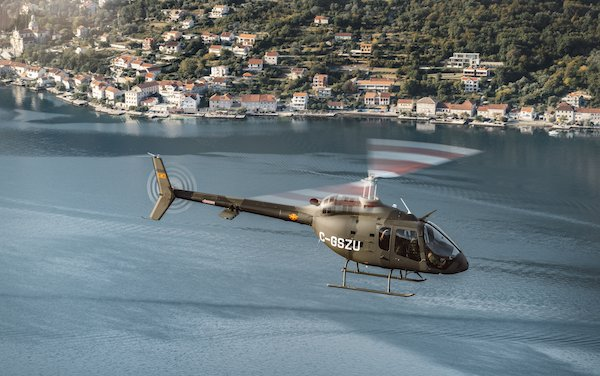 Bell completes its 60th 505 European delivery to Montenegro Air Force