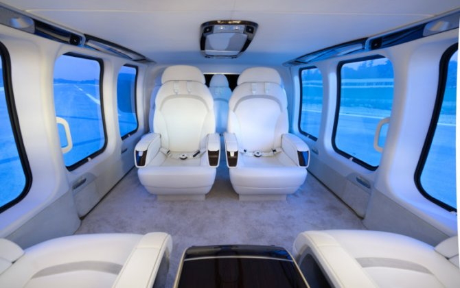 Bell Helicopter and Mecaer Aviation Group introduce MAGnificent interior for Bell 525 Relentless