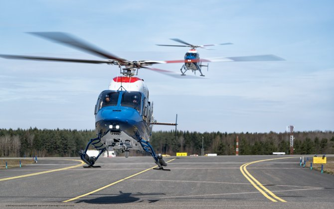 Bell Helicopter announces delivery of seven Bell 429s to Swedish National Police