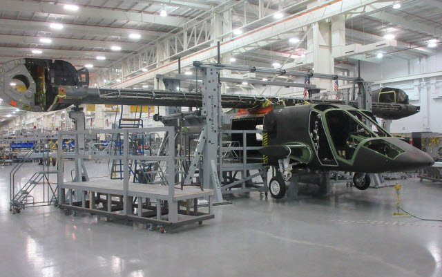 Bell Helicopter mates fuselage and wings of first V-280