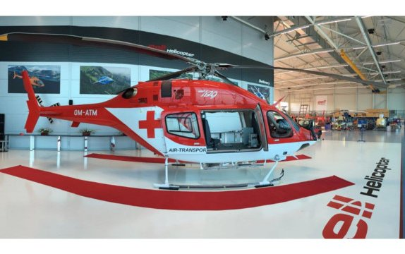 Bell Helicopter Prague delivers first fully customized aircraft from new state-of-the-art facility