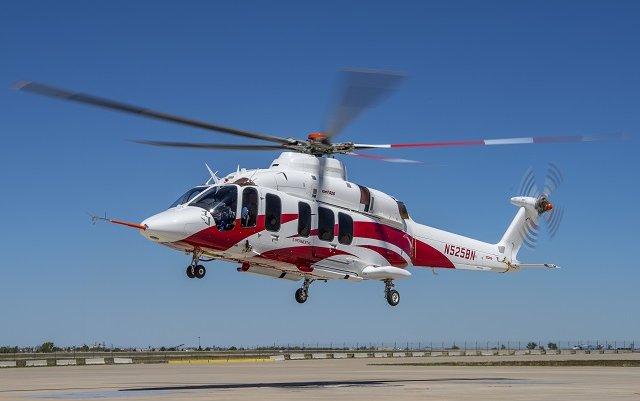 Bell's third 525 Relentless takes flight in Amarillo