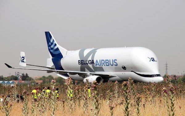 BelugaXL enters into service in Getafe