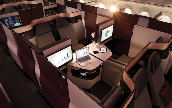 Best Cabin Interior Passenger Experience Award goes to ... Qatar Airways