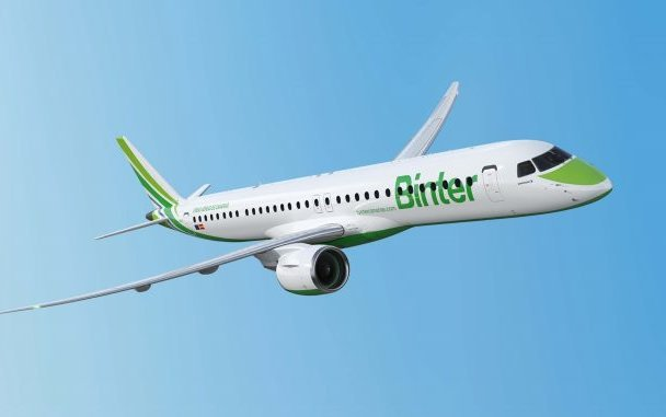 Binter, of Spain, Will Receive its First E195-E2 in 2019