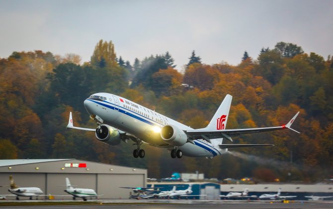Boeing, Air China Celebrate Delivery of China's First 737 MAX 8