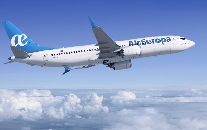 Boeing, Air Europa Announce Order for 20 737 MAX 8s