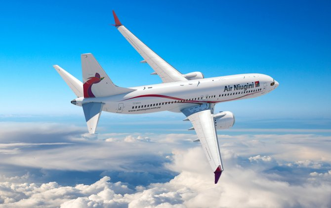 Boeing, Air Niugini Announce Order for Four 737 MAX 8s