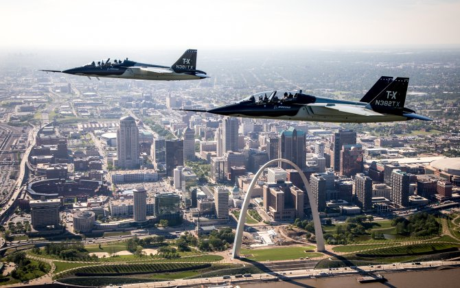 Boeing Assembly of Air Force T-X in St. Louis to Support 1,800 Jobs