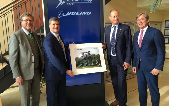 Boeing Awards Five-Year Contract to Aircraft Philipp Group of Germany