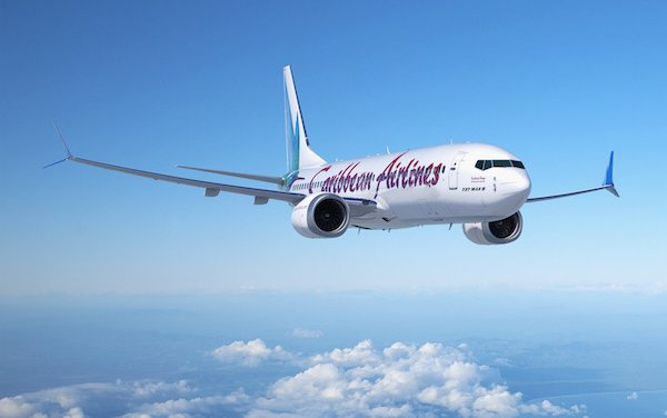 Boeing, Caribbean Airlines Announce Selection of 737 MAX
