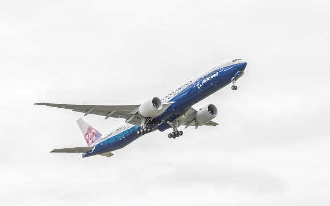 Boeing, China Airlines Celebrate Delivery of World's First Co-Branded 777