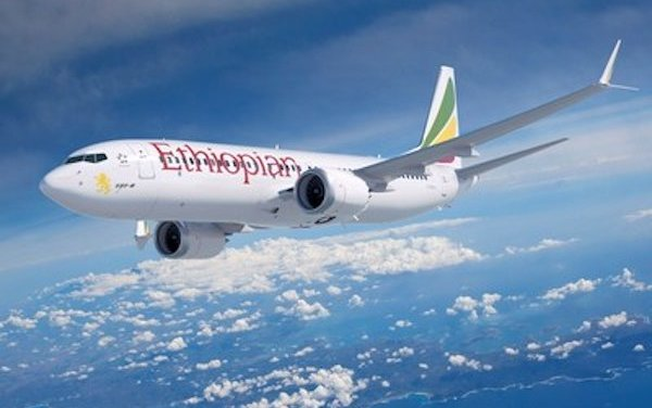 Boeing delivers first 737 MAX for Ethiopian Airlines