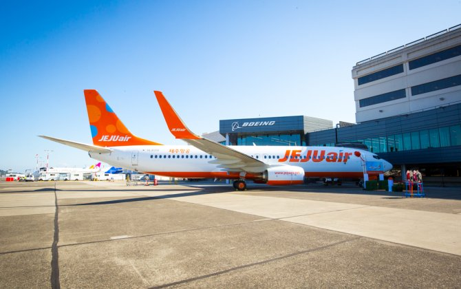 Boeing Delivers First Direct Next-Generation 737-800 to Jeju Air