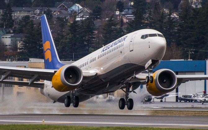 Boeing, Icelandair Celebrate First 737 MAX Airplane Delivery