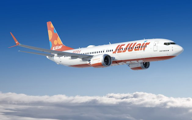 Boeing, Jeju Air Announce Order for up to 50 737 MAX Airplanes