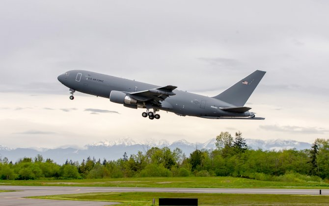 Boeing KC-46A Tanker Joins Flight Test Program