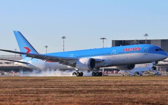 Boeing, Neos and AerCap Celebrate Delivery of Airline's First 787 Dreamliner