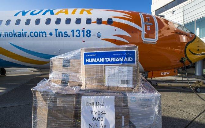 Boeing, Nok Air Partner for Humanitarian Aid Flight
