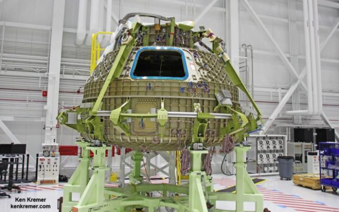 Boeing Starts Assembly of 1st Flightworthy Starliner Crew Taxi Vehicle at Kennedy Spaceport