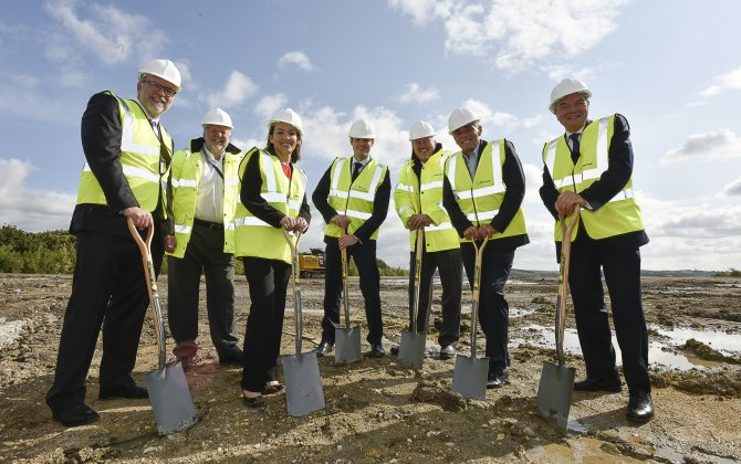 Boeing Starts Construction of its First European Production Facility in Sheffield