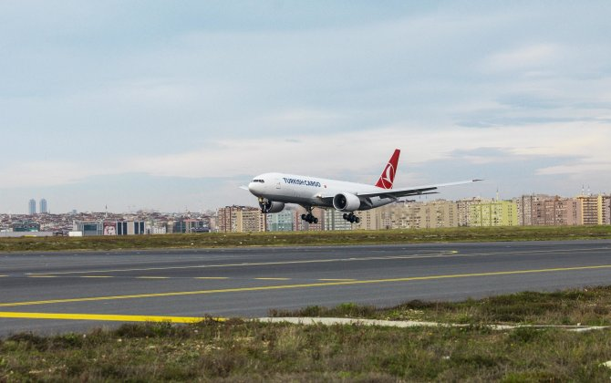 Boeing, Turkish Airlines Celebrate the Airline's First 777 Freighter