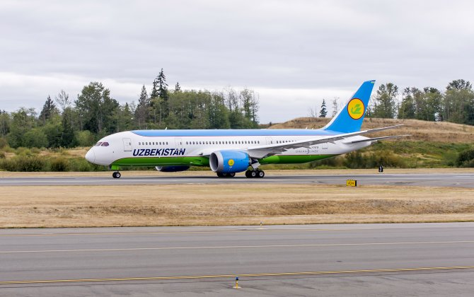 Boeing, Uzbekistan Airways Finalize Order for 787-8 Dreamliner
