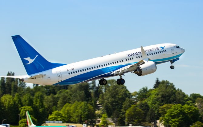 Boeing, Xiamen Airlines Celebrate Delivery of Carrier's First 737 MAX Jet