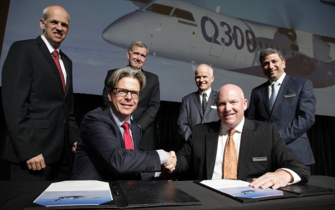 Bombardier and Fokker renew agreement to support Dash 8/Q Series 100/200/300 aircraft