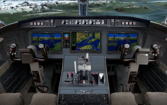 Bombardier and Rockwell Collins unveil Pro Line Fusion® integrated avionics upgrade for Challenger 604 aircraft