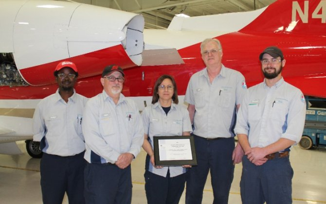 Bombardier Business Aircraft Service Centres Complete Nearly 120,000 Hours of Training