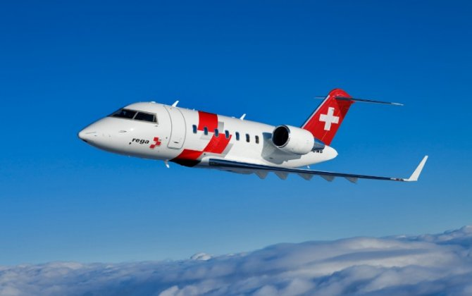 Bombardier Delivers Another Challenger 650 Aircraft to Swiss Air-Rescue Rega for its Growing Next-Generation Air Ambulance Fleet