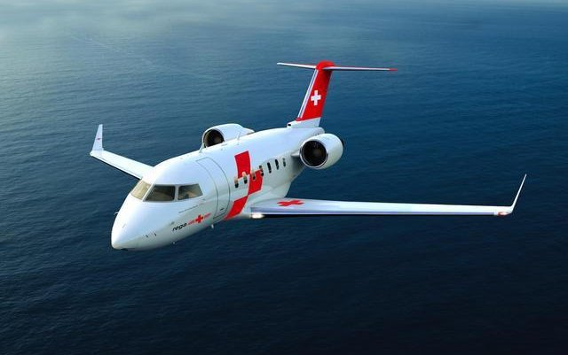 Bombardier Delivers First Challenger 650 Aircraft Converted Into Air Ambulance to Swiss Air-Rescue Rega