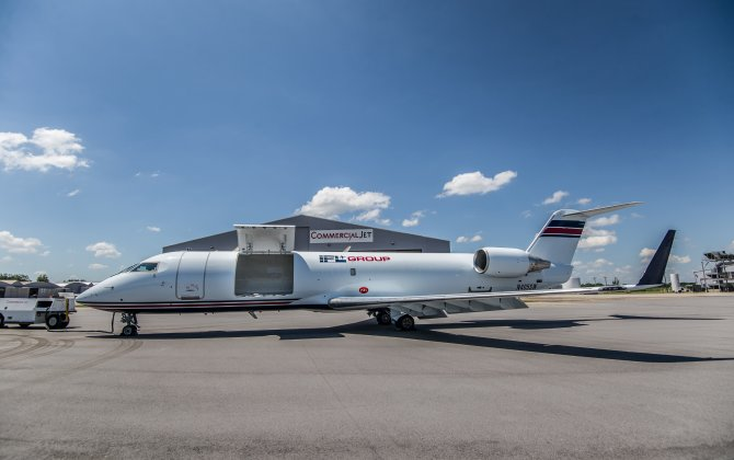 Bombardier Delivers First CRJ200 Special Freighter Aircraft