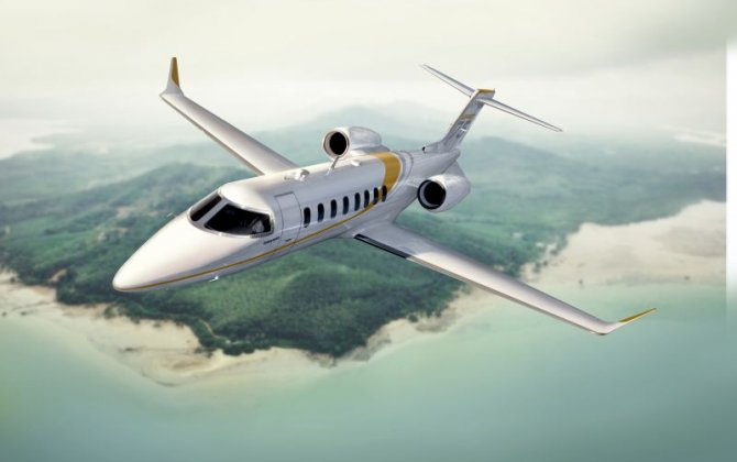 Bombardier delivers its first Learjet 75 in Brazil