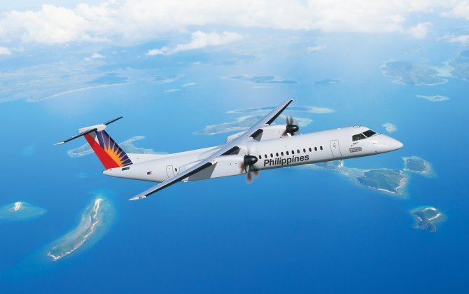 Bombardier Delivers the First Dual-Class, 86-seat Q400 Aircraft to Philippine Airlines
