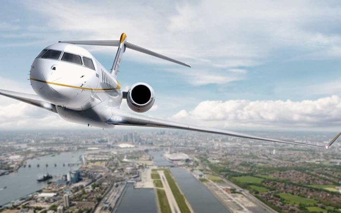 Bombardier Global 7500 Aircraft Mock-up Continues Successful Worldwide Tour with Stop in Olbia, Italy