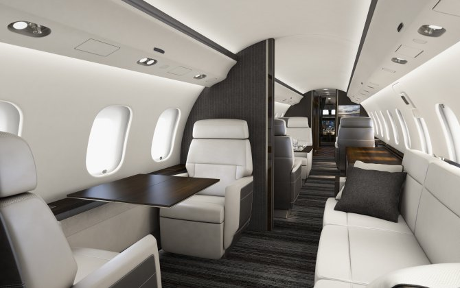 Bombardier Introduces its Premier Cabin for Global 5000 and Global 6000 Aircraft at NBAA BACE