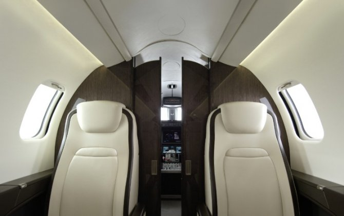 Bombardier Launches New Interior on Learjet 75 Business Jet