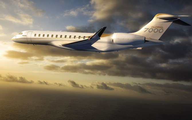 Bombardier Prepping Global 7000 For Flight this Year