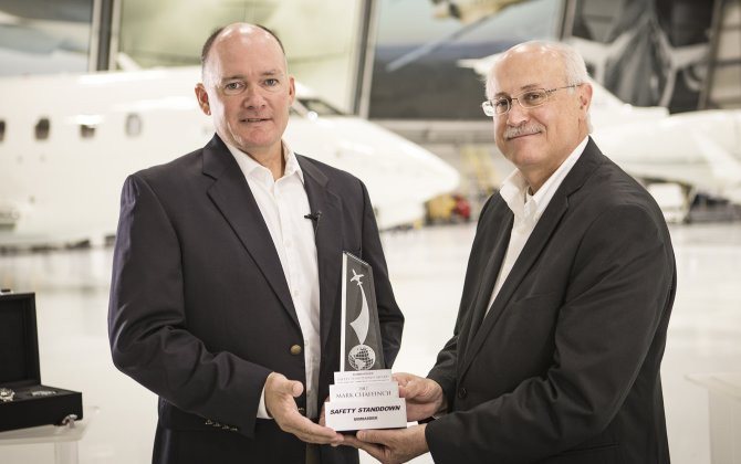 Bombardier Recognizes Outstanding Commitment to Aviation Safety