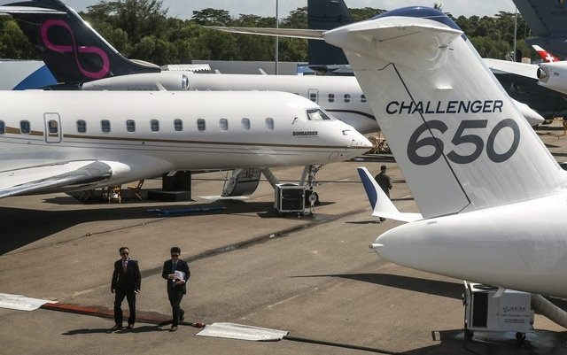 Bombardier says business jet sales set to rebound