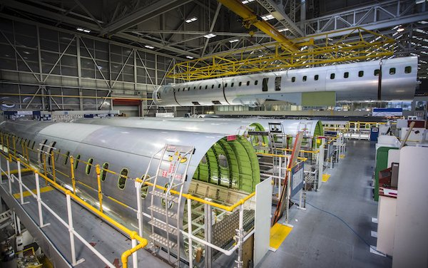 Bombardier sells Aerostructures Business to Spirit AeroSystems Holding