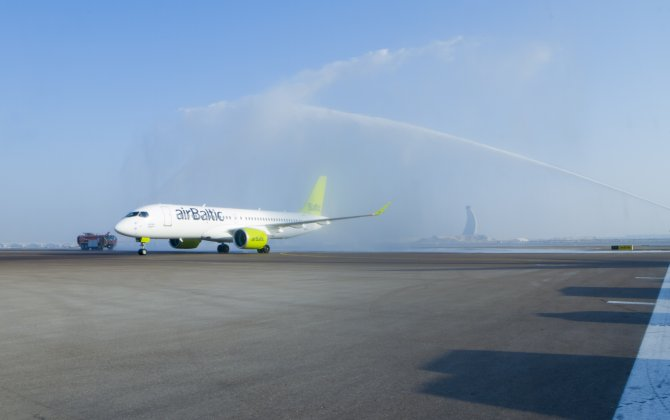 Bombardier to showcase CS300 in airBaltic's livery at 2017 Dubai Airshow
