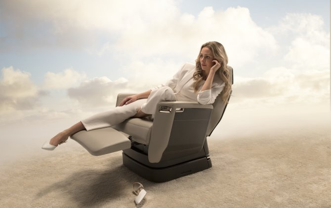 Bombardier Unveils the Nuage Seat, with First New Seat Architecture in Business Aviation in Three Decades