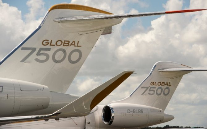 Bombardier's Award-winning Global 7500 Business Jet Earns FAA Approval