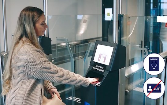 Border crossing at Riga Airport - faster and more convenient with new ABC Gates
